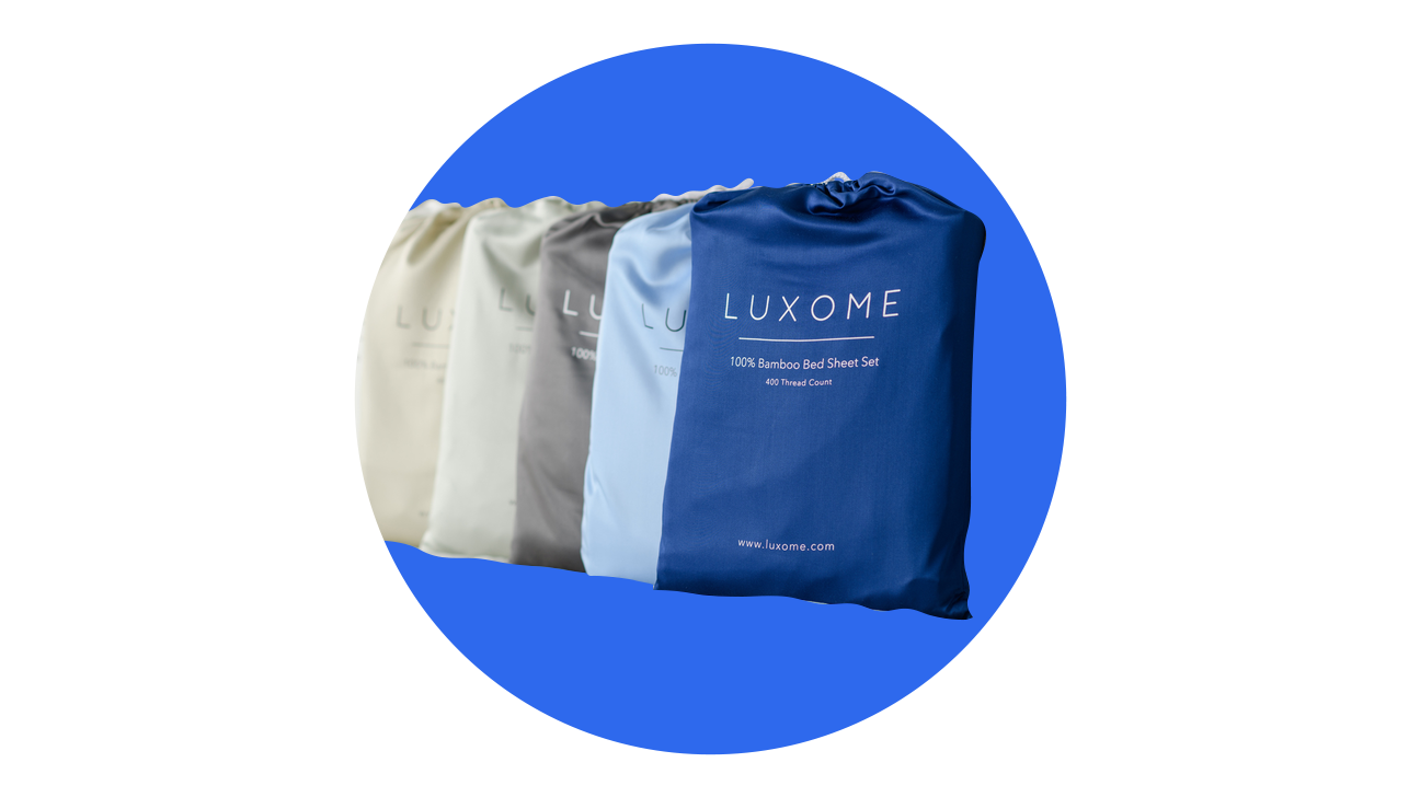 Luxome bamboo sheets