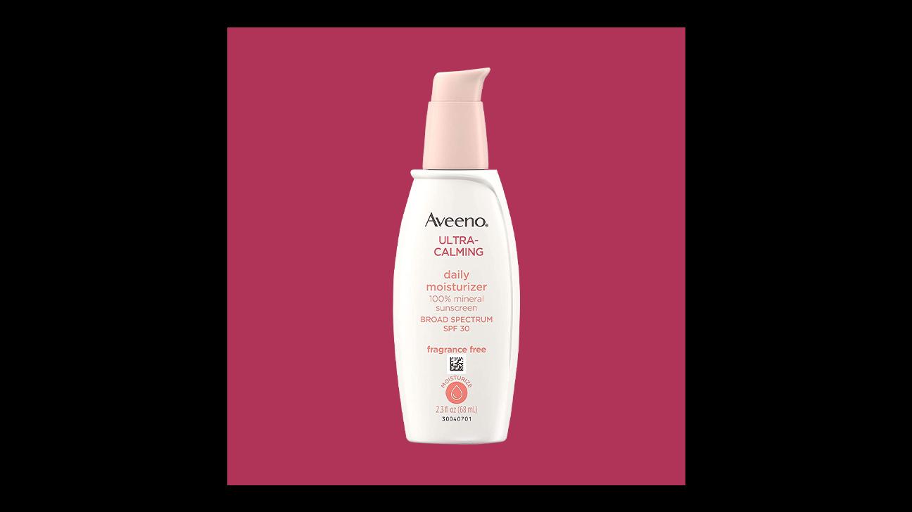 Aveeno Ultra Calming Daily Moisturizer Sunscreen, SPF 30