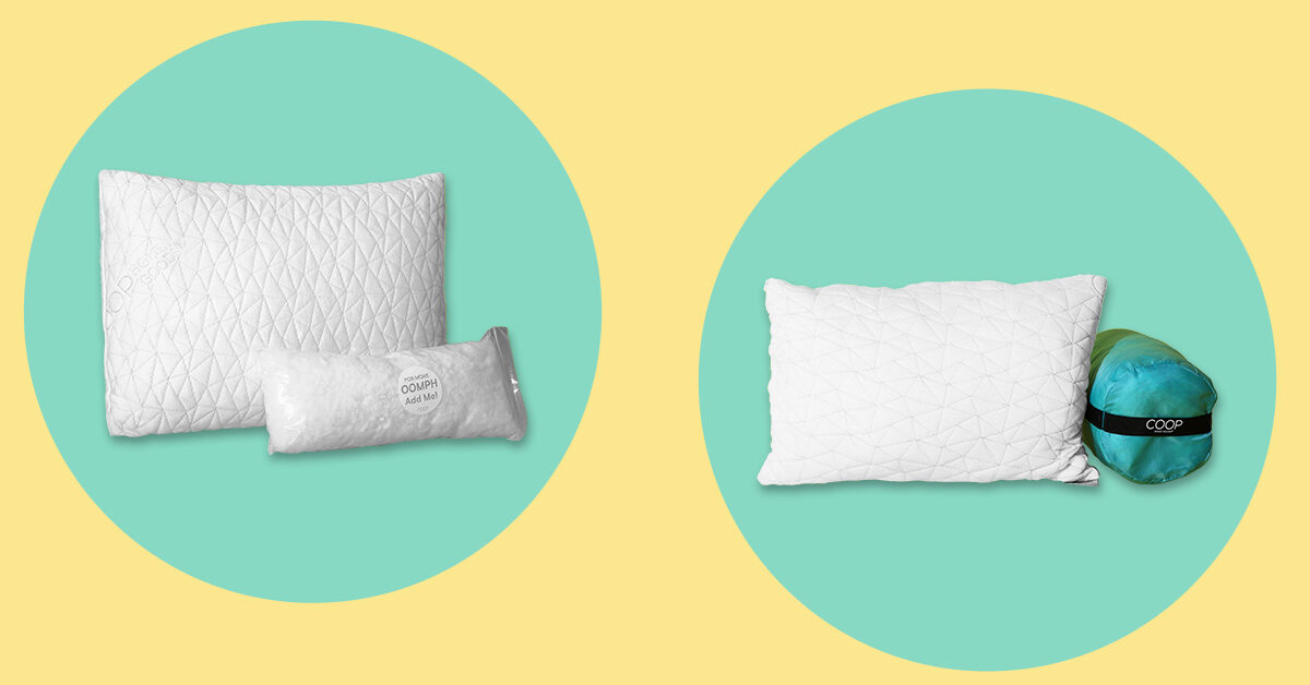 coop pillow review features types