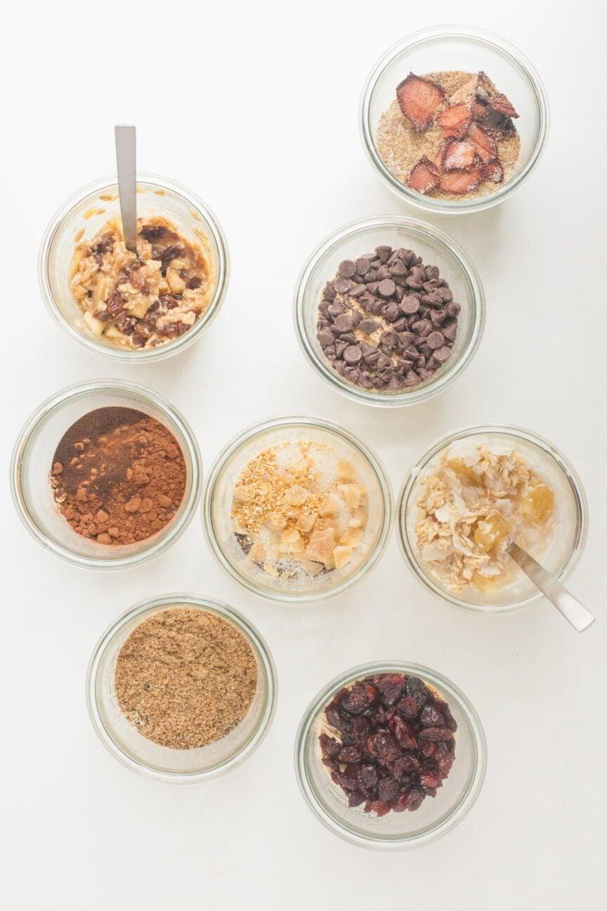 Make-ahead oatmeal cups
