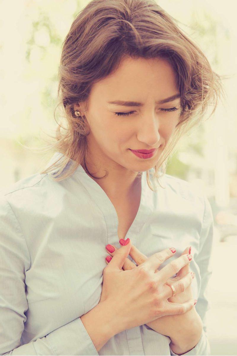 first symptom of coronary heart disease