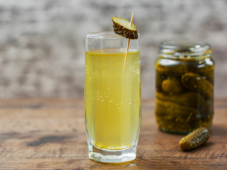 Drinking pickle juice: Nutrition, benefits, and side effects