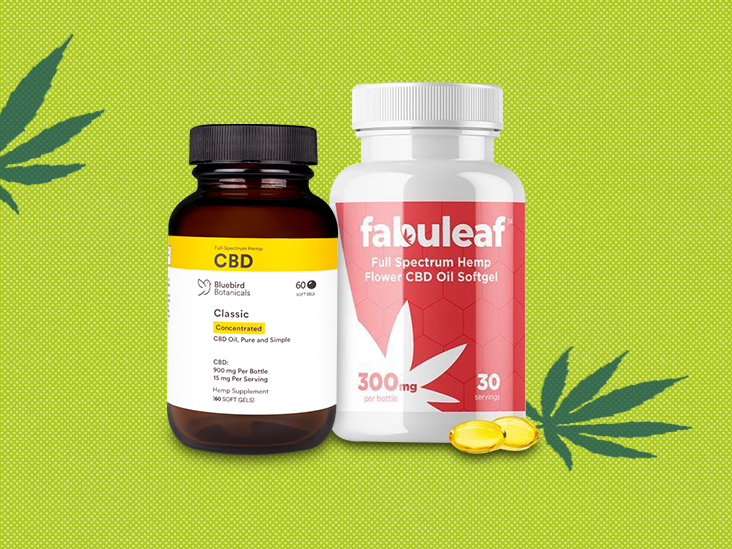 CBD capsules and pills: 7 of the best options